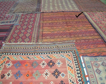 FREE SHIPPING 10'5 by 4'8 FT Vintage Full Soumak Fine quality Qalaty Area Rug