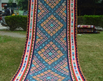 Vintage Tribal Turkish Runner