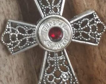 45 Cal Bullet Cross Bullet Jewelry