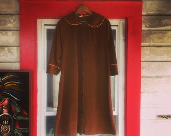 Vintage Soft Brown Dress