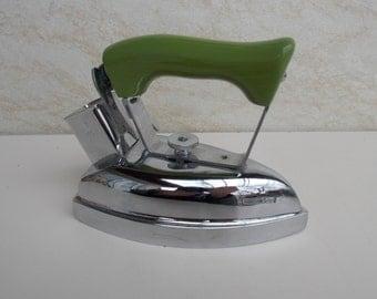 Vintage AEG Folding Travel Iron, Folding Iron, Retro Clothing Iron, Mid Century Clothing Iron, Vintage Electric Iron, Home decor, Gift