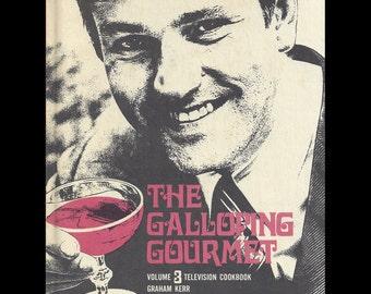 Vintage Graham Kerr The Galloping Gourmet Cookbook 1969 Volume 3