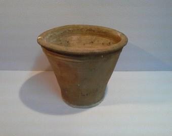 Italian Old terracotta vase