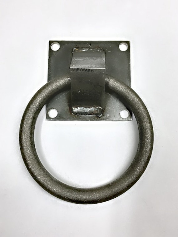 barn door pull ring style for sliding barn doors industrial With barn door ring pulls