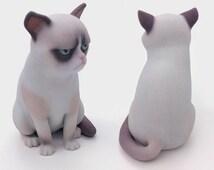 Grumpy Cat - 3d print