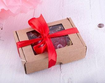 Add a soap box + ribbon! - Soap Gift - Soap packaging - cardboard box