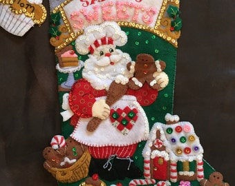Mrs. Claus stocking