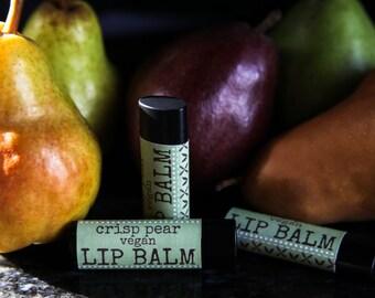 ALL NATURAL Pear Lip Balm//Vegan Lip Balm//Pear Lip Balm//All Natural Lip Balm//Lip Balm//Lip Balms//Lip Gloss//Vegan Lip Balms//All Natural