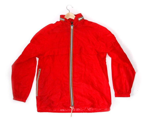 80's Red BHS windbreaker