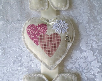 Mr and Mrs Hanging Garland with Heart