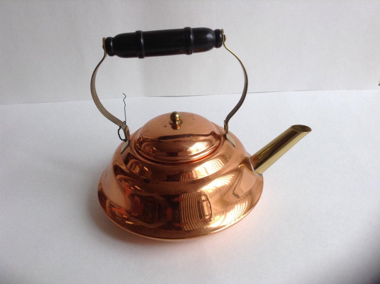 Sale Vintage Copper Tea Kettle Decorative Tea Kettle Copper
