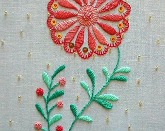 Camellia - Traditional embroidery kit