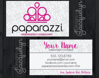 Paparazzi Accessories - Consultant Business Card - Printed