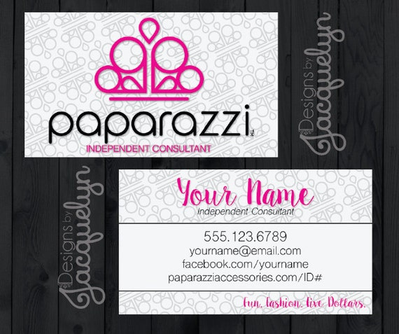 Paparazzi Consultant Business Cards Related Keywords