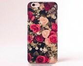 Floral phone case iPhone 6 Case iPhone 5 Case iPhone 4 Case floral Samsung Galaxy S6 Case Note 3 case floral LG G3 Case Galaxy S5 Case