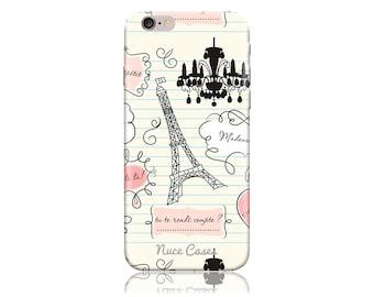 iPhone 6 Plus Case SS When In Paris Cool Design Hard Phone Case