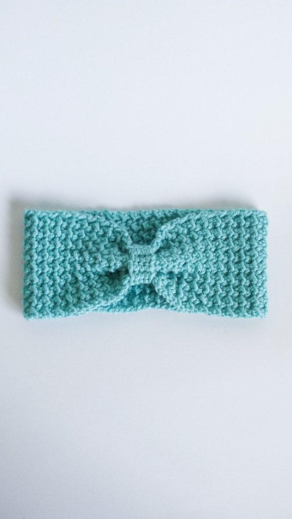 Crochet Turban Headband/Ear Warmer - Best Gifts for Women - Best Friend Gift - Best Valentines Gifts for Her - Turban Boho Chic Headband