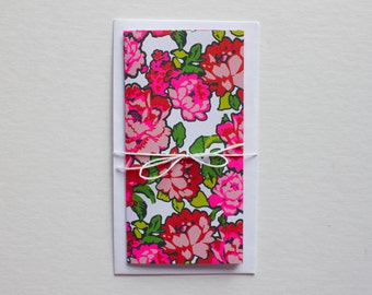 stationary cards, blank cards, floral stationery, note card set, stationary set, modern stationary, colorful stationary, note cards, floral