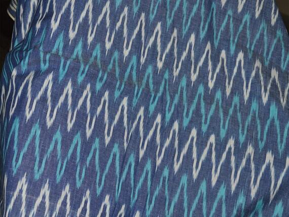 Indian Ikat Fabric Ikat Cotton Fabric by the Yard Ikat