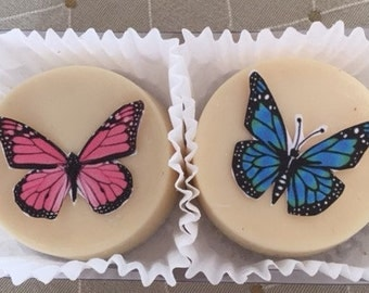 Butterfly Wedding Chocolate Covered Oreo Favors