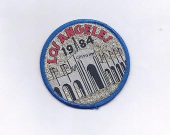 Vintage 1984 Los Angeles Olympics Coliseum Patch