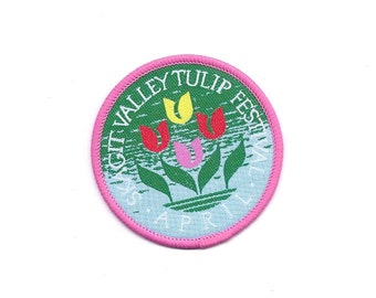 Vintage Skagit Valley Tulip Festival Patch