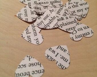Frankenstein Heart Confetti - 100 pk - Literature Confetti - Mary Shelley
