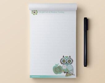 Notepad - Big Eyes Owl