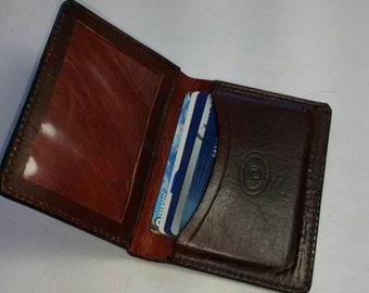 Wallets, leather billfold wallet