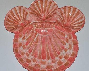 New Ceramic Seashell Dip 'n Chip