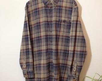 Vintage 90s Multicoloured Check Shirt