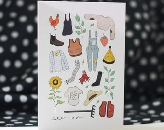 Greeting Card - Dress For Success