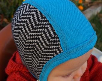 100% Merino Wool Pilot Hat