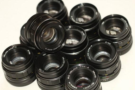 HELIOS 44M-4  f/2 58mm Soviet Lenses Zenit Praktica Pentax M42 - 10 pcs q