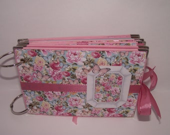 scrapbook album hand made, photo album, girl photo album, gift, gift, birthday, ring photo book, photo book