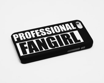 Professional Fangirl - Full printed case for iPhone - by HeartOnMyFingers - CMB-071
