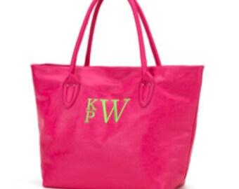 Monogram Shoulder Bag Personalized Shoulder Monogram Handbag Monogram Pink Handbag Pink Shoulder Bag Personalized Handbag Pink Handbag