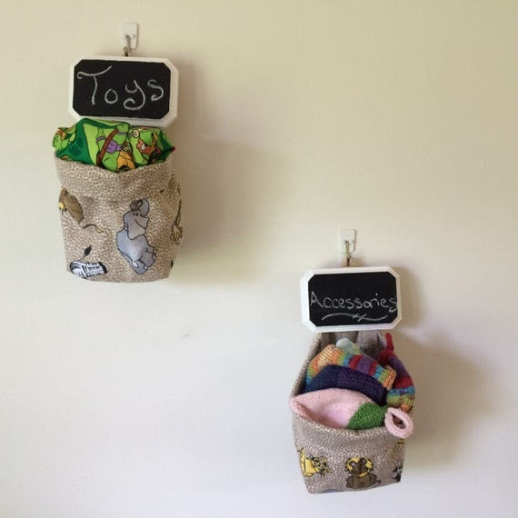 Safari Animals ~ Cloth Storage Baskets