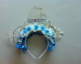 Magic Kingdom Floral Mickey Ears