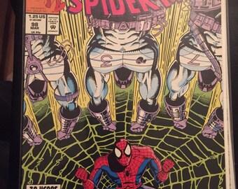 1992 Marvel Comics Web of Spiderman #98