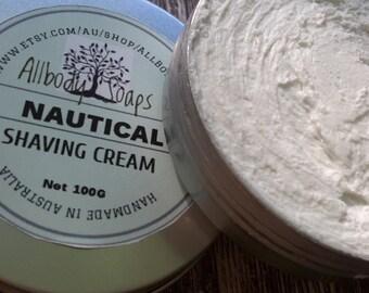 NAUTICAL SHAVING CREAM ~ Whipped