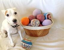 Crochet Plush Balls, Amigurumi, Stuffed, Coloful, Decorative and Playful
