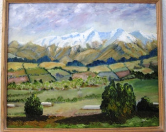 South Canterbury Countryside, New Zealand