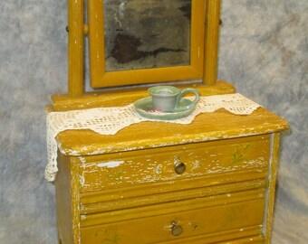Antique Doll Dresser Etsy