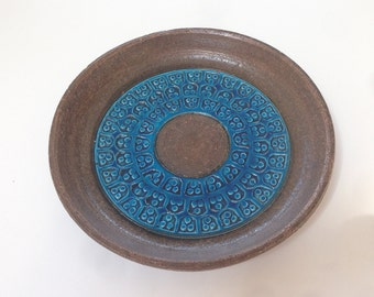 Bitossi - Rimini Blue dish