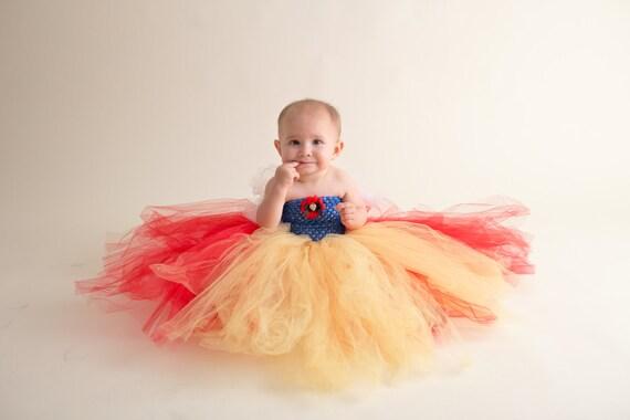 No sew tutu dress princess costume birthday tutu dress christmas