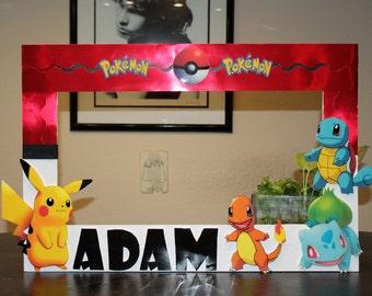 pokemon photo frame prop