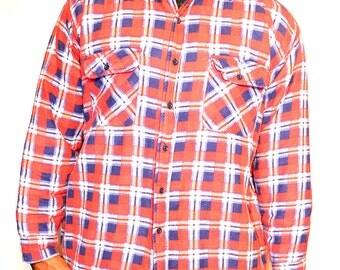 Mens vintage plaid jacket/ mens vintage jacket/ mens vintage