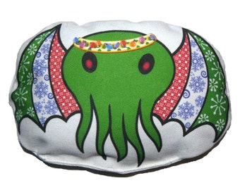 Holiday Cthulhu by StarCATS Cat Toys