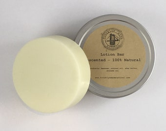 Unscented Lotion Bar, solid lotion, Lotoin bar, Brooklyn lotion, Shea butter lotion, natural lotion bar, natural lotion, solid lotion bar,